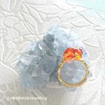 ラブフォースを惹きだす石と指輪 (天聖跡・メキシコオパールRing