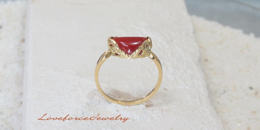 血赤サンゴの指環 Side